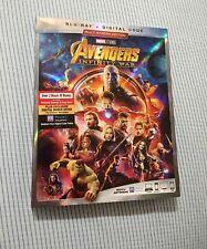 Avengers:Infinity War (Blu-Ray) (Digital Code) Slip Cover