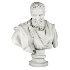 "Bust Sculpture of Michelangelo 32"" the famous Renaissance sculpltor painter"