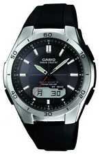 Casio Mens Wave Ceptor Black Rubber Strap WVA-M640-1AER Watch - 9% OFF!