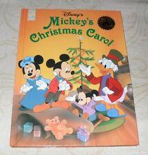 "DISNEY'S: ""MICKEY'S CHRISTMAS CAROL""  HARDBACK BOOK  *LIKE NEW CONDITION*"
