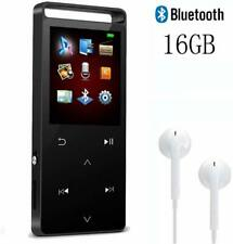 MP3 Player HIFI Lossless Sound MP4 Video Play 16GB SD Card Up To 128GB FM Radio