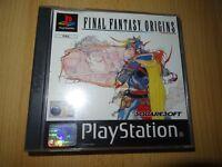 Final Fantasy: Origins Sony PlayStation 1 ps1 mint collectors