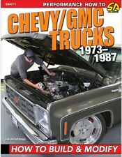 Book Chevy/Gmc Trucks 1973-1987: How To Build & Modify # Sa471