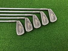 NICE Tommy Armour Golf 855s SILVER SCOT Iron Set 6-PW Left Handed Steel REGULAR
