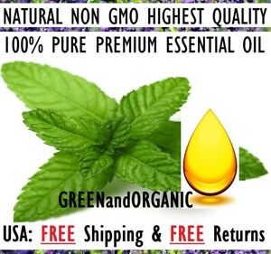 PREMIUM QUALITY Peppermint Essential Oil 100% Pure 5ml to 1gallon Free Shipping