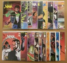 Mage Hero Discovered #1-15 Matt Wagner sig + Defined #1-4 Lot of 19 Beautiful NM