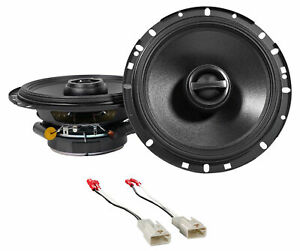 """Alpine S 6.5"""" Front Factory Speaker Replacement Kit For 2003-2008 Toyota Corolla"""