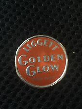 """New listing Coal Mine Scatter Tag Trade Name """"Golden Glow"""" Used By Perkins Harlan Liggett"""