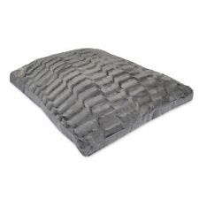 LARGE & Extra Large  Fur Dog Bed -Pet Washable Zipped Mattress Cushion