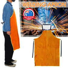 Heat Insulation Welding Apron Welder Thornproof Cow Leather Cowhide Protection