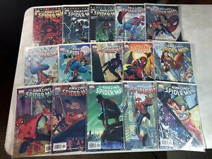 Amazing Spider-Man (Vol. 2) #42-58 (Aug. 2002 - Nov. 2003) Lot of 15 Great Shape