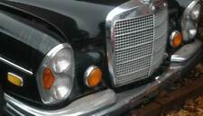 """FRONT FOG LIGHTS 5"""" X 2 (ABBER) 1969 MERCEDES-BENZ 300SEL 6.3 (FOR W108, W109)"""