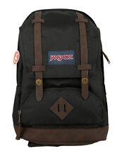 AUTHENTIC JANSPORT CORTLANDT BLACK COLOR BACKPACK BAG FOR BOYS GIRLS KIDS