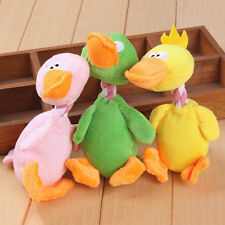 Funny Pet Cat Dog Puppy Chew Squeaker Squeaky Plush Sound Bird Chew Play  QA