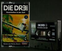 Die DR3I 3 Verschollen in der Zeit Hörspiel  MC schwarz Kassette Europa *