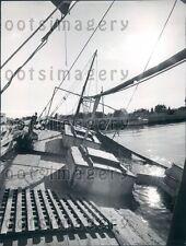 1966 Old & New Fishing Boat Tarpon Springs FL Press Photo