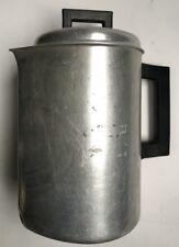 Solid Aluminum Art Deco Royal Chef 1947 Poulsen & Nardon Coffee Pot No 506 Vtg