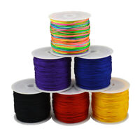 1Roll Waxed Cotton Cord Wire Thread Beading Macrame String Jewelry DIY Gift Hot