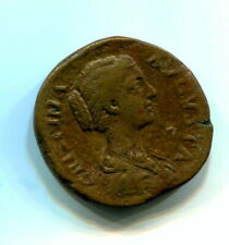rome ,brass coin of   crispina,wife of commodus   .30mm scarce and collectable,