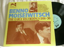 BENNO MOISEIWITSCH Early Recordings 1916-1930 Chopin Brahms Debussy APR 2 LP