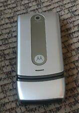 Motorola w376g Camera GPS Speaker CDMA Messaging Flip Tracfone Cell Phone