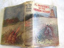 Enid Blyton THE MYSTERY OF THE HIDDEN HOUSE HCDJ 1959 illus J Abbey