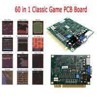 60 en 1 jeu classique Jamma PCB Board CGA / VGA pour JAMMA Arcade Game Machine