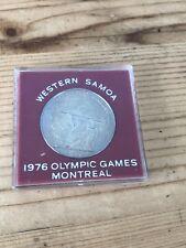 Ouest Samoa 1976 Montreal Jeux Olympiques $1 - Un Dollar Pièce de Monnaie