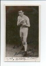 1920s Beagles Postcard BOY MCCORMICK Autograph Signed Vintage Boxing Card