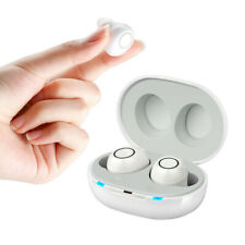 A Pair Rechargeable Digital Hearing Aids Invisible High-Power