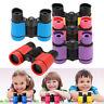 5 Colors To Choose 4x30 Rubber Adjustable Lightweight  Mini Binoculars for Kids