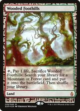 MTG Magic the Gathering - Wooded Foothills - Foil - Masterpiece: Expeditions