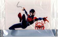 Spider-Man Into The Spider-Verse action decal Miles Morales swing General Mills