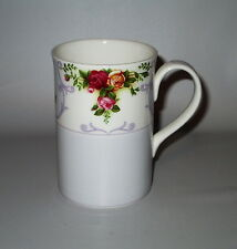 "Royal Albert Rose Cameo Violet Mug 2003 England 4"" Bone China"