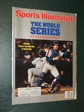 1986 Sports Illustrated Gary Carter World Series **FREE SHIPPING**