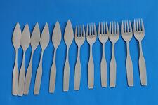 WMF 3600 Wagenfeld 12tlg. Fischbesteck Fischgabel Fischmesser 90 Silber Besteck