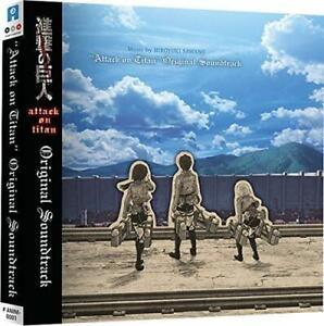 Attack on Titan: Season 1 CD Soundtrack| Australian Release