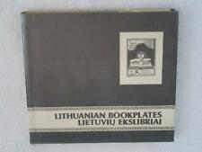 Vitolis Vengris LITHUANIAN BOOKPLATES Lietuviu Ekslibriai 1980