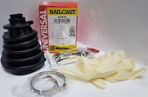 1x Bailcast Stickyboot split universal CV boot kit Drive Shaft - Brand New CVS18
