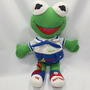 Vintage Cromer Muppets Toys Baby Kermit Activity Doll Excellent Condition 1985
