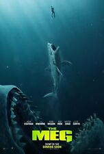The Meg Movie Poster (24x36) - Jason Statham, Ruby Rose, Rainn Wilson v2