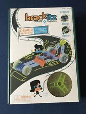 Brackitz Driver: 43 Piece Set - Imagination Set and Vehicle Building Stem Toy