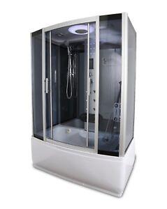 Steam sauna room shower enclosure 2020 new Y9001 model FM radio LED lights