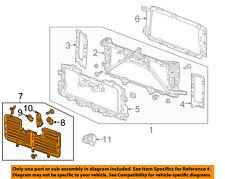 GM OEM Front Panels-Shutter 84363184