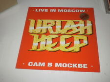 URIAH HEEP - LIVE IN MOSCOW - LP GATEFOLD 1988 MADE IN UK - LEGACY RECORDS -