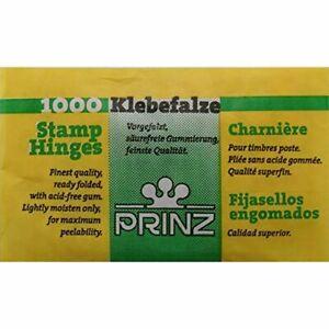 Prinz Stamp Hinges - Pack of 1000
