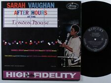 SARAH VAUGHAN After Hours At The London House MERCURY LP VG+ mono **