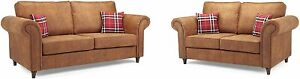 Sofa Oakland - 3 Seater - 2 Seater - Armchair - &  2C1 - 1C2 - Faux Leather