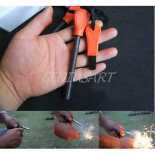 Camping Survival Magnesium Flint And Steel Striker Fire Starter Lighter Stick HQ