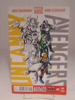 Uncanny Avengers #1 001 Variant Gold Cover  Marvel Comics vf/nm CB1351